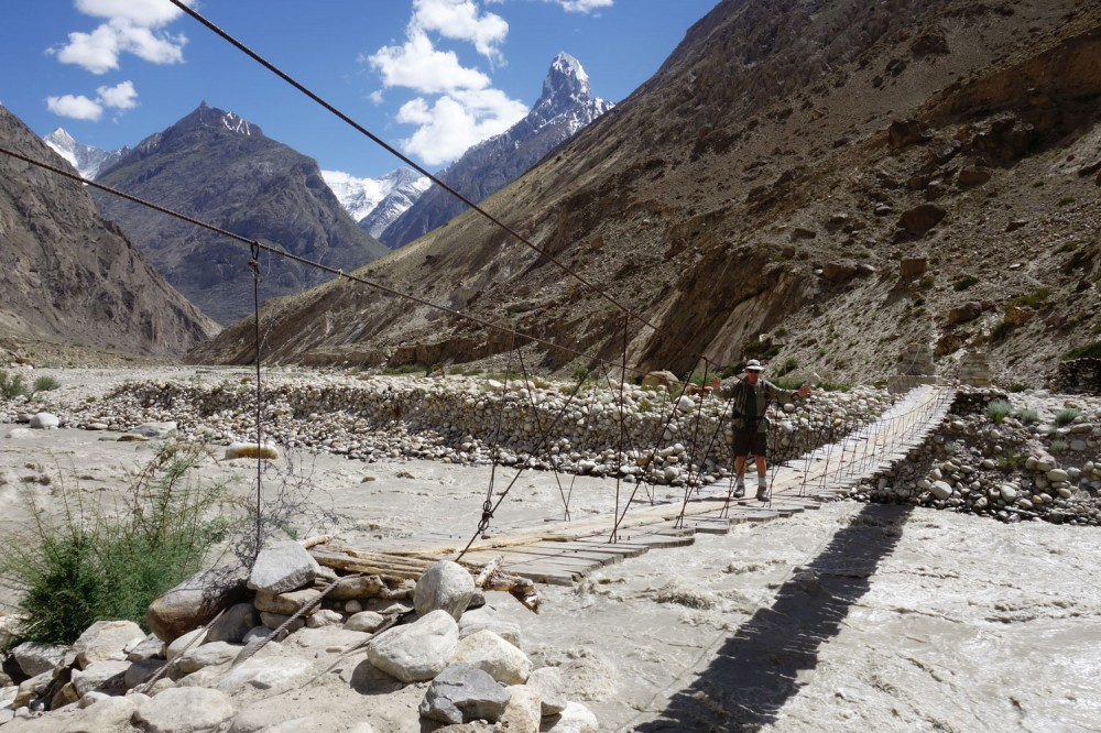 Karakorum: trekking do bazy pod K2